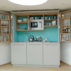 Kitchenettes, mini kitchens & compact micro kitchen furniture